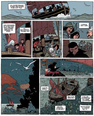 Page 2 Le marquis d'anaon tome 1 - l'île de brac