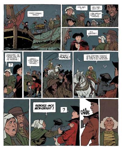 Page 3 Le marquis d'anaon tome 1 - l'île de brac