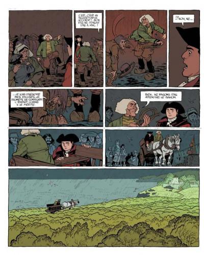 Page 4 Le marquis d'anaon tome 1 - l'île de brac