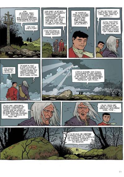 Page 5 Le marquis d'anaon tome 1 - l'île de brac