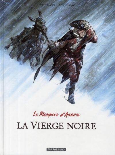 Couverture Le marquis d'anaon tome 2 - la vierge noire