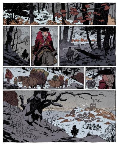 Page 1 Le marquis d'anaon tome 2 - la vierge noire