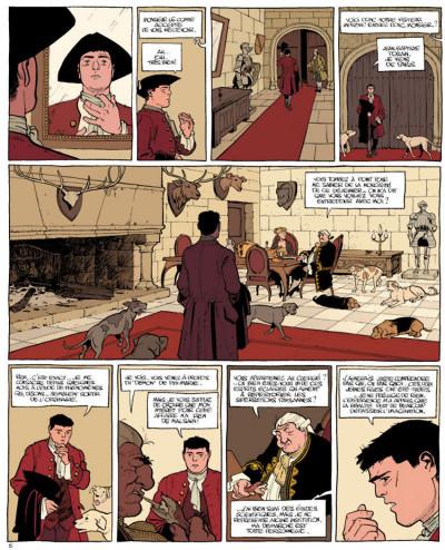 Page 5 Le marquis d'anaon tome 2 - la vierge noire