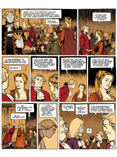 Page 2 Le marquis d'anaon tome 3 - providence