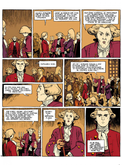 Page 3 Le marquis d'anaon tome 3 - providence
