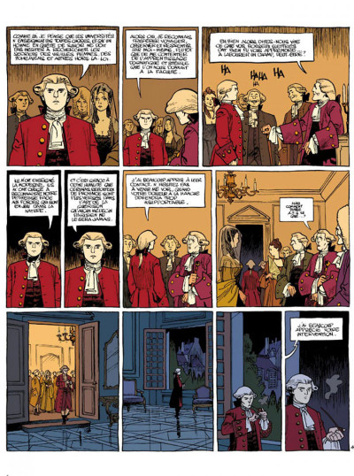 Page 4 Le marquis d'anaon tome 3 - providence