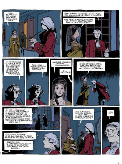 Page 5 Le marquis d'anaon tome 3 - providence