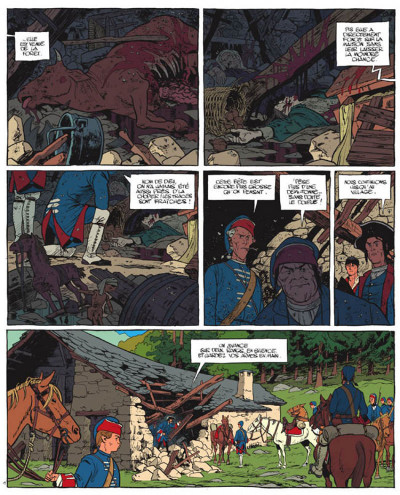 Page 1 Le marquis d'anaon tome 4 - la bête