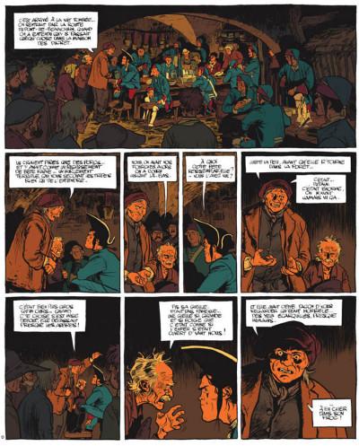 Page 5 Le marquis d'anaon tome 4 - la bête