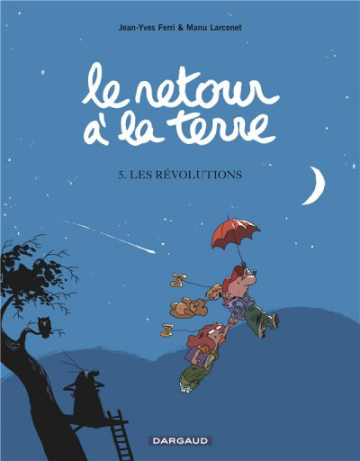 Couverture Le retour à la terre tome 5 - les révolutions