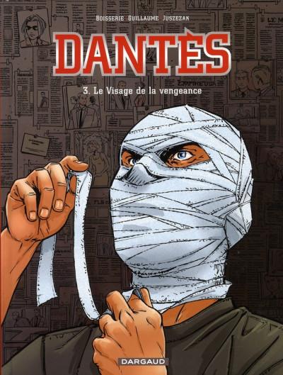 Couverture Dantès tome 3 - le visage de la vengeance