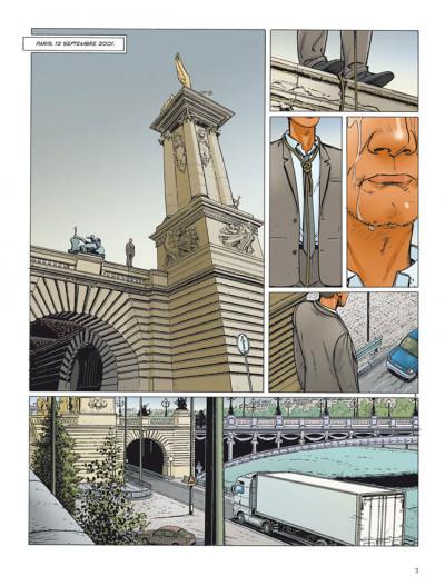 Page 1 Dantès tome 3 - le visage de la vengeance