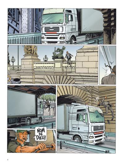 Page 2 Dantès tome 3 - le visage de la vengeance