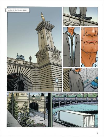 Page 3 Dantès tome 3 - le visage de la vengeance
