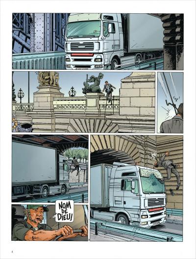 Page 4 Dantès tome 3 - le visage de la vengeance