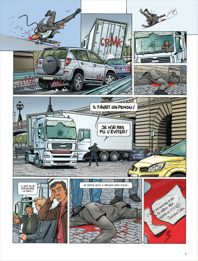 Page 5 Dantès tome 3 - le visage de la vengeance