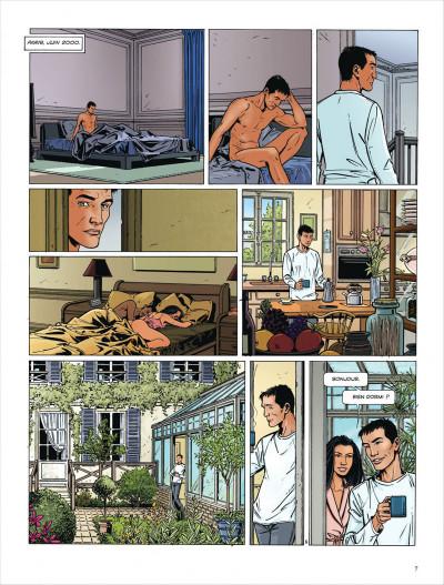 Page 7 Dantès tome 3 - le visage de la vengeance