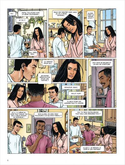 Page 8 Dantès tome 3 - le visage de la vengeance