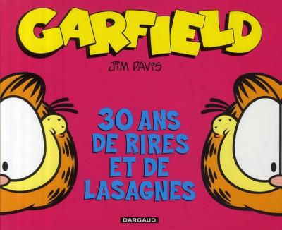 Couverture Garfield 30 ans de rires et de lasagnes