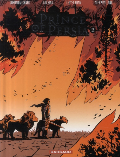 Couverture prince of persia tome 2