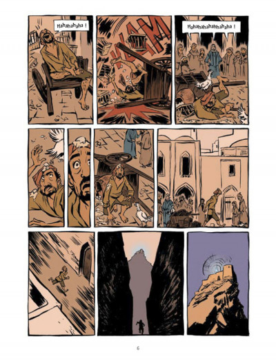 Page 2 prince of persia tome 2