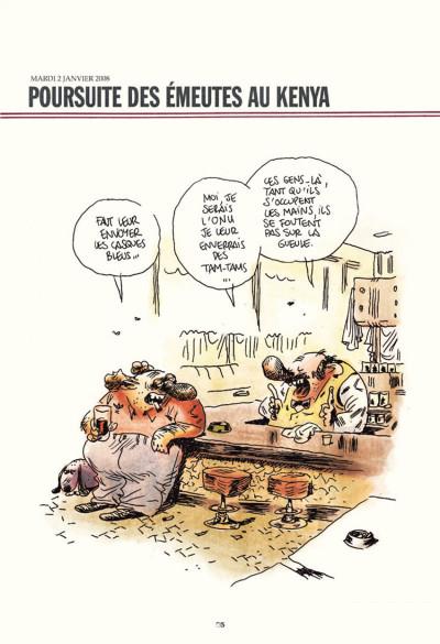 Page 1 Chez francisque tome 3 - une année vue du zinc