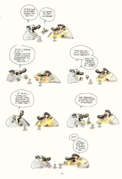 Page 3 Chez francisque tome 3 - une année vue du zinc