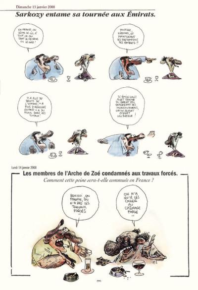 Page 5 Chez francisque tome 3 - une année vue du zinc