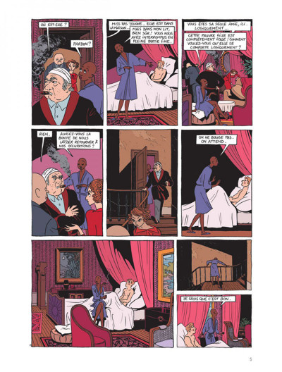 Page 3 Miss pas touche tome 4
