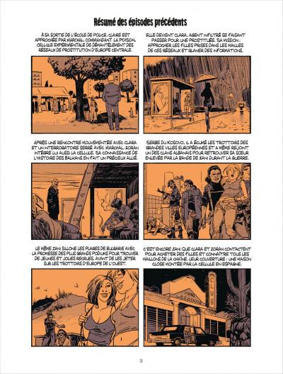 Page 3 Cellule poison tome 4 - dans les serres de l'aigle