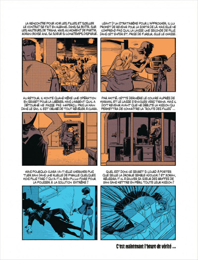 Page 4 Cellule poison tome 4 - dans les serres de l'aigle
