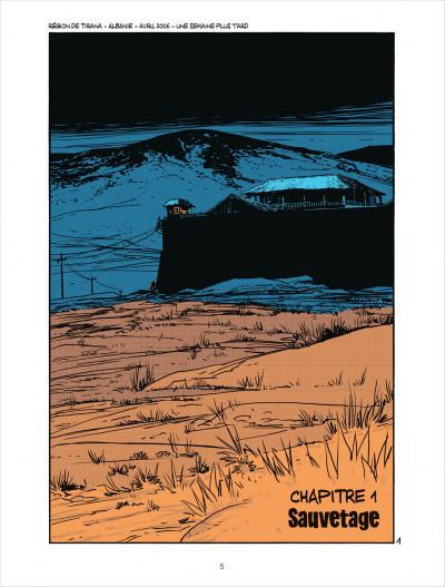 Page 5 Cellule poison tome 4 - dans les serres de l'aigle