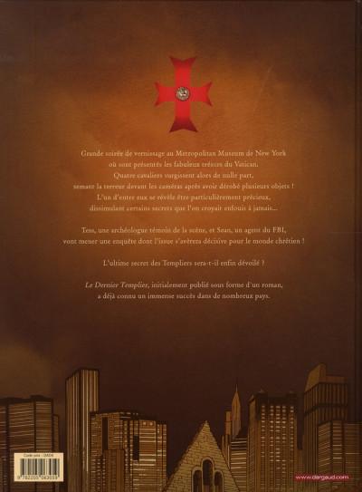 Dos Le dernier templier tome 2 - le chevalier de la crypte