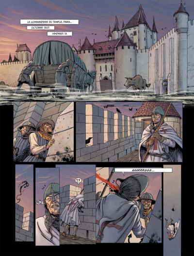 Page 1 Le dernier templier tome 2 - le chevalier de la crypte