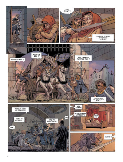 Page 2 Le dernier templier tome 2 - le chevalier de la crypte