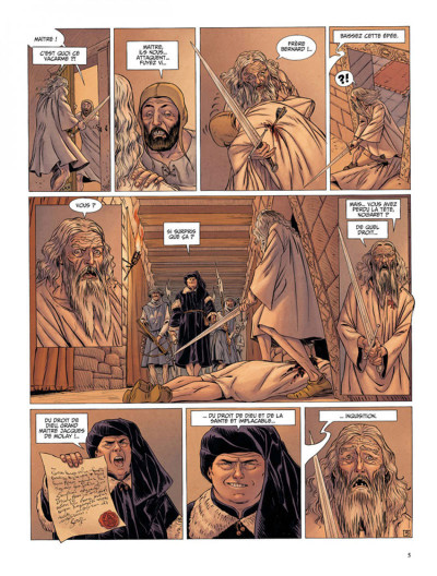 Page 3 Le dernier templier tome 2 - le chevalier de la crypte