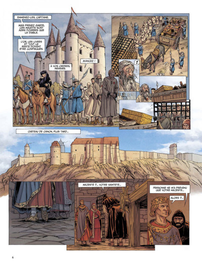 Page 4 Le dernier templier tome 2 - le chevalier de la crypte