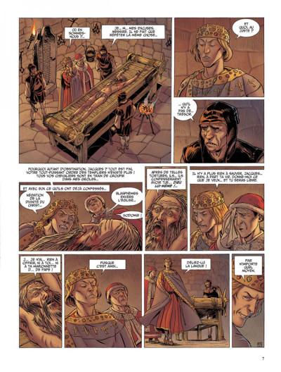 Page 5 Le dernier templier tome 2 - le chevalier de la crypte