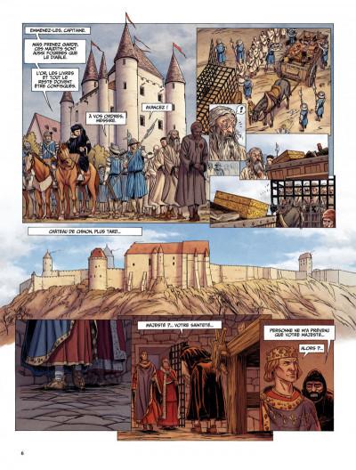 Page 6 Le dernier templier tome 2 - le chevalier de la crypte