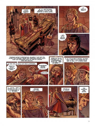Page 7 Le dernier templier tome 2 - le chevalier de la crypte