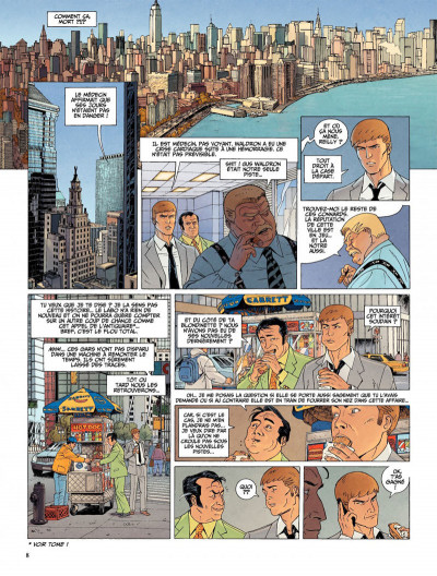 Page 8 Le dernier templier tome 2 - le chevalier de la crypte