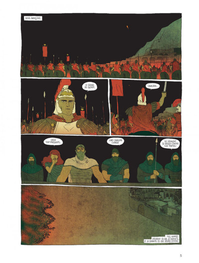 Page 3 Pour l'empire tome 1