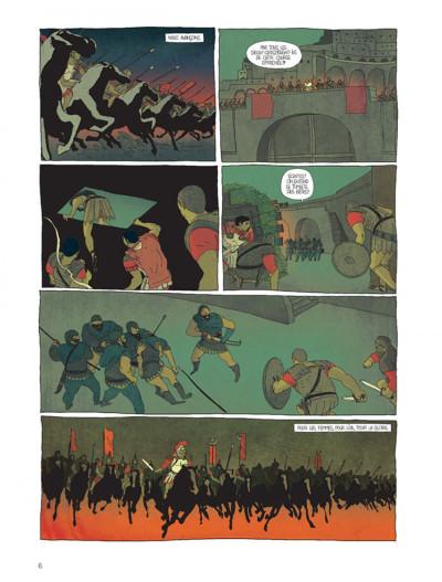 Page 4 Pour l'empire tome 1