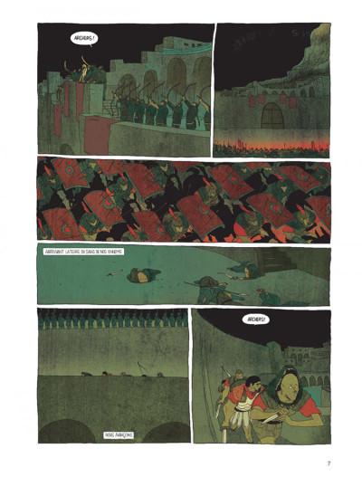 Page 5 Pour l'empire tome 1