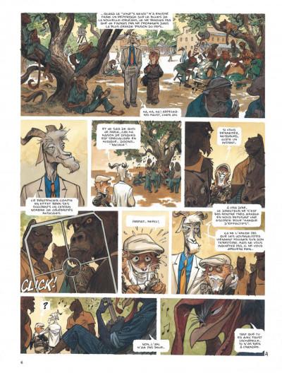 Page 6 Blacksad tome 4