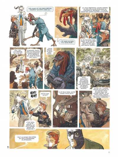 Page 7 Blacksad tome 4