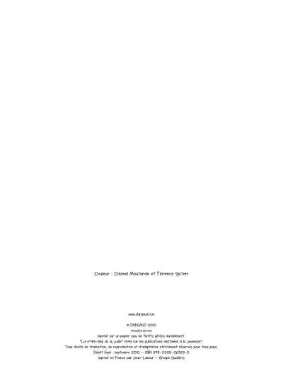 Page 2 Maïa tome 1 - la boite de Pandore