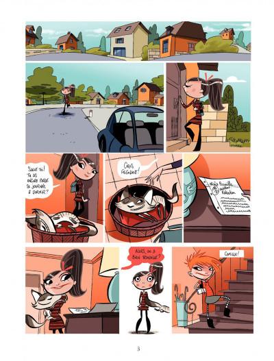 Page 3 Maïa tome 1 - la boite de Pandore