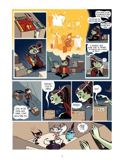 Page 7 Maïa tome 1 - la boite de Pandore