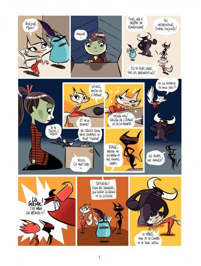 Page 8 Maïa tome 1 - la boite de Pandore